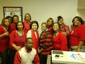 "MS STATE DEPT OF HEALTH's STD/HIV DEPT ""Going Red for Women"""