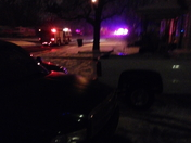 police chase ended on my block