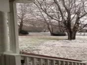 Anderson, SC video of snow