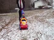 Snow Pic and video of Caroline Gillespie from Reidville
