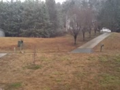 NO Snow on the ground after 10 hours of non stop snow!!