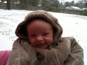 Trace's first big snow