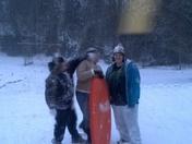 Snowy fun In McGrady