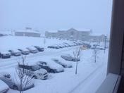 Heavy snow @ Featherton Crossing