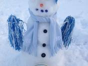 Tarheel Snowman
