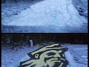 App State snowman