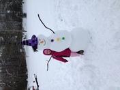 Libby's snow girl!!