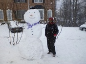 FW: Our Fun Snow Pics In Clemmons!!!
