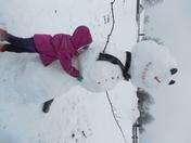 Giant 7 Foot Snowman