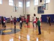 4th Grade students at HES dancing the Cotton Eyed Joe