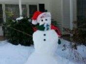 MOMS SNOWMAN