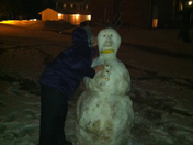 Even Big Kids Build Snowmen