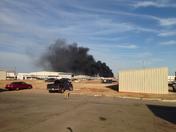 Fire near Memorial @ Santa Fe
