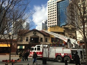 Market Square Structure Fire