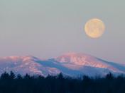 Giant Moon over Giant Mt.