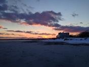 Sunset at Goose Rocks Beach