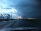 Wall Cloud 2/28/14 6pm