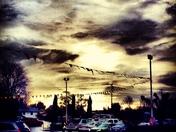 Sunset Stormy Friday