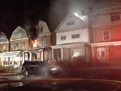 Center St 2 houses on fire east pittsburgh