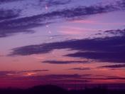 tonight's wonderful sunset