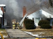 Fire on Bashford Manor Lane