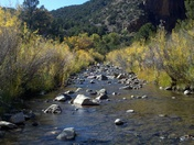 River in Jemez Mountains