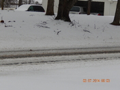 3.5 inches in Yadkinville