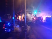 Fire in Nashua canal street