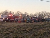 Wreck on highway 62