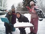 FW: kids shoveling