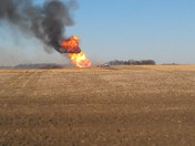 Natural gas explosion near Hooper