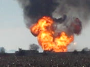 South of Hooper gas explosion
