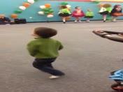 Dance Off!! 3 year old vs. Irish step dancers