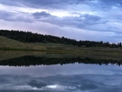 Evening at Hopewell Lake