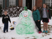 We're not Irish, but our Snowman IS !!!!!