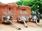 Three wagons