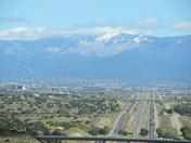 Beautiful Albuquerque NM the last day of Winter