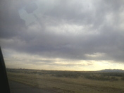 Thew the sky of New Mexico