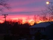 Stunning sunset tonight