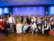 Wedding of Special Olympics Coaches