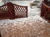 goofball size hail!!!