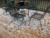 Hail storm South KC