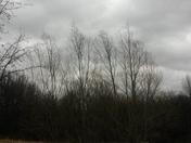 storm clouds around 2:00ish.