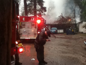 explosion fire in pollock pines