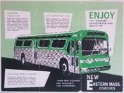 Eastern Mass. Street Railway Flyer ca. 1961