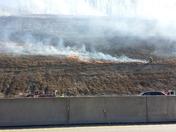 Brush fire 376E past Bayer