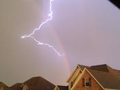 striking rainbow