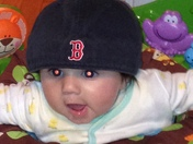 Elizabeth Bedrossian of Marblehead can't wait for the Red Sox