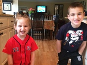 Kids Red Sox photo