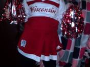 Ally supporting the Badgers